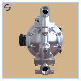 """1 """" grande pompe à diaphragme pneumatique d'acier inoxydable de flux double"""