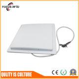 La norma ISO18000 6c Sistema de inventario de UHF lector RFID de largo alcance con 12dBi Antena