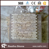 Mattonelle di mosaico poco costose del marmo del reticolo della striscia per la parete della cucina e della stanza da bagno