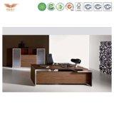 低価格の販売のための鋼鉄オフィスTable/MDFの上の金属の事務机かCumputer机または表