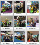 Apparatuur van de Speelplaats van de Dia van kinderen de Plastic Openlucht (yl-X151)