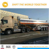 販売のための半3つの車軸アルミニウムトラックのトレーラーの石油タンカー