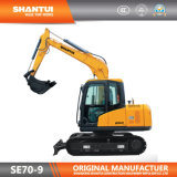 Graafwerktuig van het Kruippakje van de Fabrikant van Shantui het Officiële 7t (Motor SE70-9/Kubota)