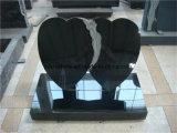 Надгробные плиты совершенно гранита Shanxi черного мемориальные для сбывания