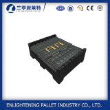 caixa de armazenamento plástica de 1200X1000X1000mm Rackable grande com tampa