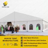 barraca grande do casamento de 20X30m com Windows transparente & forro colorido para 800 capacidades P3/Haf/20m dos povos
