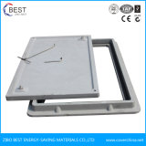 En124 B125 Qualitäts-Quadrat-zusammengesetzter Einsteigeloch-Deckel