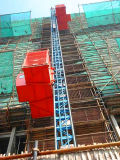 Sc200 / 200 Double Cages Passengers Construction Building Hoist