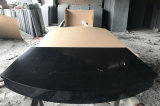 Абсолютное черного гранита полированного кухонном столе Шаньси черный