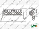 Lamp van de Boot van Combo SUV van de Vlek van de auto Offroad LEIDENE de Lichte Vloed van de Staaf 40inch 240W Offroad 4WD Drijf
