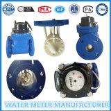 De Meter van het Water van de Impuls van de Flens van Woltman, de Meter van het Materiële, Koude Water van het Ijzer