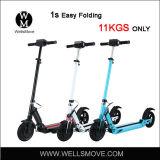 11kgs Rad-einfacher Falz-elektrischer Roller des Leichtgewichtler-zwei billig
