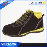 Ligero de marca de cuero de ante zapatos deportivos de seguridad Ufa089