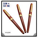 De hete Pen die van de Kantoorbehoeften van de Bevordering van de Verkoop de Houten Pen van de Rol adverteren