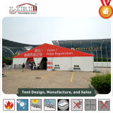 20m grande tenda de exposições ao ar livre com a impressão