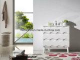36 '' Cabinet de salle de bains en céramique suspendue, MDF Matériel Vanité de salle de bain