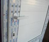 UPVC 위원회 K02047를 가진 백색 색깔 UPVC 단면도 여닫이 창 문