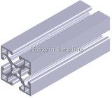 A companhia de alumínio da extrusão expulsou os perfis de alumínio