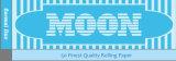Blauw Enig Breed Houten Rokend Document 1.0 van de maan