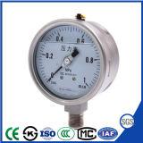 """À prova de choque 2,5"""" do medidor de pressão de aço inoxidável com enchimento de líquido"""