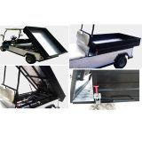 전기 시설 차 또는 손수레 또는 2 륜 마차 실용적인 편평한 침대 트럭