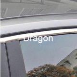 Ajuste que moldea del coche de la tira del cromo de la decoración del coche