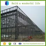 Construction en acier préfabriquée de matériaux d'entrepôt d'atelier de structure de construction
