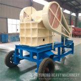 Pequeña trituradora de quijada de piedra diesel Pec250*400 en venta
