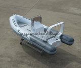 Canot automobile gonflable rigide de bateau de sauvetage d'Aqualand 16feet 4.7m/de côte (RIB470B)