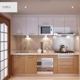現代様式の木の食器棚