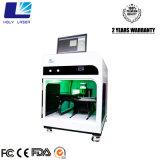 3D結晶レーザーの彫版のギフト機械