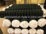 O elo da corrente com revestimento de PVC para protecção de malha de arame (7*7)
