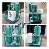 Système de vide élevé de petits utilisé Huile de transformateur/commutateur/Huile d'inductance mutuelle le raffinage du pétrole Machine ZY