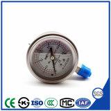 高品質のセリウムが付いている完全なステンレス鋼の振動抵抗力がある圧力計