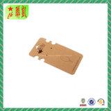 Balises personnalisées sur les clés de carton imprimé