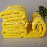 Tovagliolo di bagno puro del jacquard del cotone di 100%