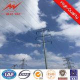 energia eléctrica afilada galvanizada 11.9m Pólo