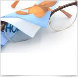 Горячий переданы печать ткань из микроволокна салфетка для очистки очков