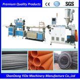 El PVC/PE de pared simple y doble tubo corrugado maquinaria