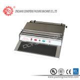 シーラー機械(HW-450)を包む皿