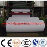 2880mm 60-70tpd Testliner Junta de cartón ondulado de doble cara de canaleta artesanal Precio de la máquina de fabricación de papel