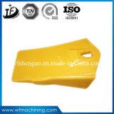Ronda personalizada Dentes de caçamba de forjamento a quente de aço para o Trator