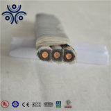 Сертификация UL медный проводник EPDM короткого замыкания на 5 кв бронированные раунда/плоский кабель Esp/погружение трос привода масляного насоса 3*10мм2 3*16мм2