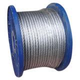 직류 전기를 통한 Steel Wire Rope Steel Cable 6X19+Iwrc/FC