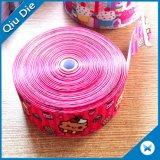 China-Fabrik-direktes Großverkauf-Farben-Kleid-Zubehör-Polyester-Farbband-gewebtes Material