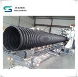HDPE 강철 벨트에 의하여 강화되는 나선형 풀무 관