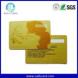 高品質の熱印刷のバーコード番号PVC名刺