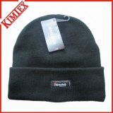 Chapeau de crochet tricoté à 100% en acrylique