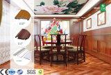 Het geluiddichte Houten Plastic Samengestelde Blad van de wpc- Muur voor Binnenhuisarchitectuur