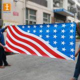 熱い販売の屋外PVC旗、高品質は網の旗の印刷、フルカラーの塀の旗に塗った